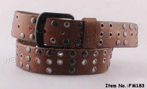 2017 New Fashion Genuine Leather Belts (FM183) pictures & photos