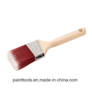 Angular Sash Brush with Wood Handle B012 pictures & photos