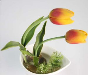 Decorative Flower Pots Plant Artificial Flowers Tulip Bonsai pictures & photos