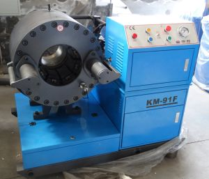 "Heavy Hydraulic Hose Crimping Machine Km-91f up to 6"" pictures & photos"