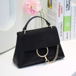 New Arrival Best Sell Design Beautiful Ladies PU Handbag pictures & photos