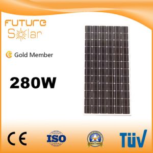 China Best Supplier Futuresolar Green Power 280W Mono Solar Panel for Cheaper Price pictures & photos