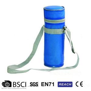 1.5L Blue 300d Cooler Bottle Bag Water Milk Bottle Bag