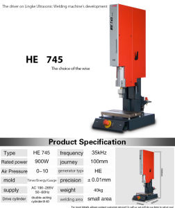 High Quality 35kHz 900W Ultrasonic Plastic Welding Machine pictures & photos