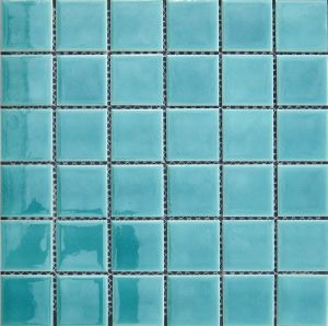 Ceramic Mosaic for Swimming Pool (VMC48L01 306X306mm) pictures & photos