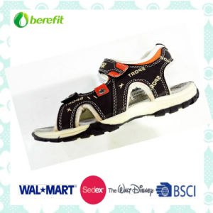 Canvas Upper and TPR Sole, Kid′s Sandals pictures & photos