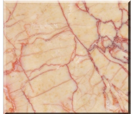 Polished Red Cream Artificial Marble Tile for Wall and Floor pictures & photos
