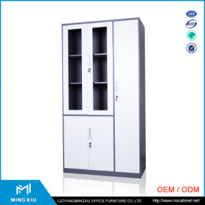 Henan Mingxiu Narrow Edge Glass Door Metal File Cabinet / Steel File Cabinet pictures & photos