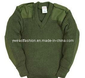 Military Sweater Outdoor Sweater Acrylic Sweater