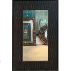 Antique Rectangle Framed Mirror Decoration (LH-000516) pictures & photos