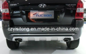 ABS Plastic Chrome Car Body Parts Front and Rear Bumper Guard Bar Protection for Hyundai Tucson Auto Parts Body Kits