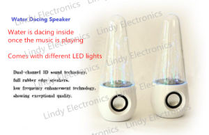 Water Dancing Speaker Portable Fountain LED Speaker Computer Speaker