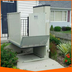 Home Elevator Vertical Wheelchair Lift Platform for Disabled pictures & photos