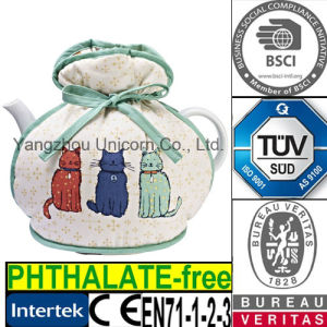 Mug Cup Coffee Sleeve Warmer Cover Cat Teapot Cozy
