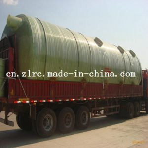 FRP Large Capacity Treatment Fiberglass Plastic Fuel Tank pictures & photos