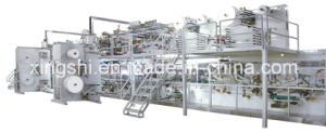 High Speed Automatic Full-Servo Disposable Baby Diaper Manufacturing Machine