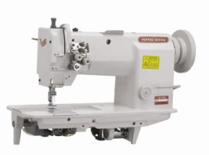 Double Needle Lockstich Sewing Machine with Split Needle Bar FF20528