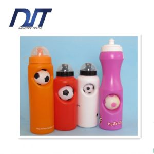 Custom Logo 750ml Professional Football Plastic Sport Bottle