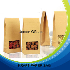 Food Grade Kraft Paper Bag for Snack and Tea pictures & photos