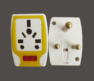 Good Design 15A Travel Plug Adaptor with Fuse pictures & photos