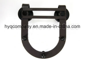 6.6ft Black Rustic New Household Sliding Barn Door Sliding Track Hardware pictures & photos