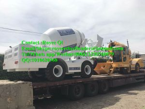 Fiori Style Self Loading Mobile Concrete Mixer Truck 4000L China Factory pictures & photos