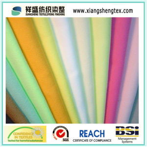 Polyester Nylon Blending Microfiber Fabric for Bathrobes pictures & photos
