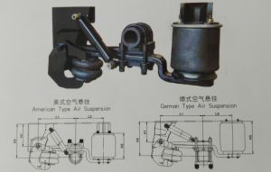 Trailer Parts 9ton / 11ton Germany Type Air Suspension pictures & photos