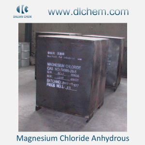99%Min White Powder/Flake/Block Magnesium Chloride Anhydrous pictures & photos