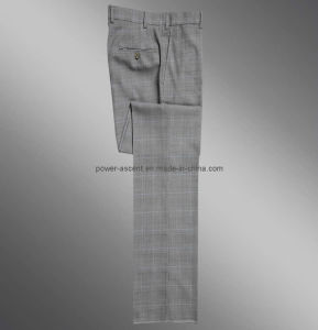 Top Quality OEM Spring/Autumn Mens Winkle-Free Fashion Western-Style Trousers pictures & photos