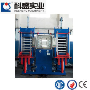 100ton Rubber Molding Machine for Rubber Ball Bouncy Ball (KS100H6L) pictures & photos