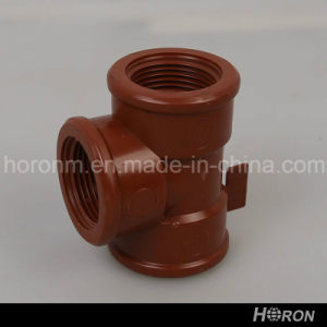 Pph Water Pipe Fitting-Tee-Elbow-Tee-Adaptor (3/4′′) pictures & photos