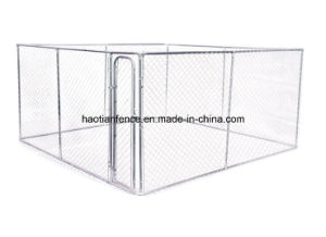 Large Outdoor Iron Fence Dog Kennel Wholesale pictures & photos