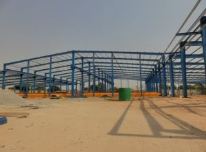 Steel Structure Warehouse in Angola pictures & photos
