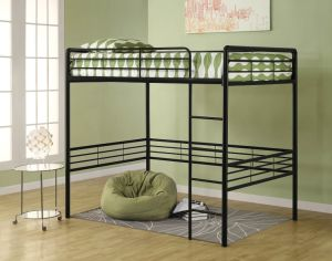 Full Metal Loft Bunk Bed/Steel Loft Bed pictures & photos