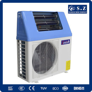 C Hot Water 220V, R410A Save 80% Energy 5kw, 7kw, 9kw Solar Power Heat Pump  Water Heater Higher Than Cop 5.0