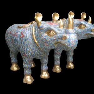 Enamel, Cloisonne Hippo (JW050) pictures & photos