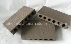 Stable Round Hole WPC Decking 138x23mm pictures & photos