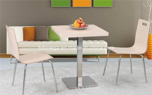 HPL Stainless Steel Restaurant Dining Table Set (FOH-BC10) pictures & photos