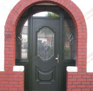 Woodgrain UPVC Casement Arch Door (BHP-CDA14) pictures & photos