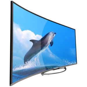 "49"" and 55"" Uhd Curved 4k LED TV with USB, HDMI, WiFi pictures & photos"