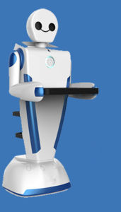 3rd Service Robot for Restaurant Delivery Food Robot Waiter pictures & photos