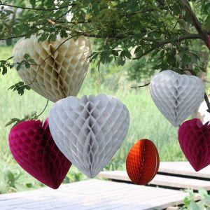 Paper Honeycomb Wedding Decoration
