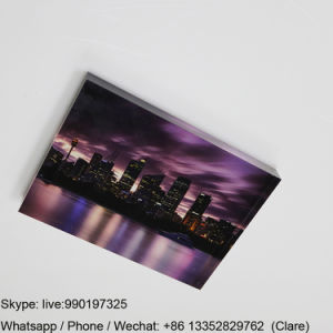 Custom Lucite Photo Block with Printed Image for Exhibition pictures & photos