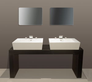Acrylic Solid Surface Basin (GX) pictures & photos