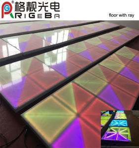 New LED Dance Floor with Ray Effect for Wedding Party pictures & photos