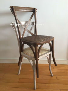 Stackable Cross Back Chair, Factory pictures & photos