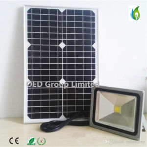 50W Solar Power LED Optical Sensor Flood Light and Light Control Lamp with 3 Years Warranty pictures & photos