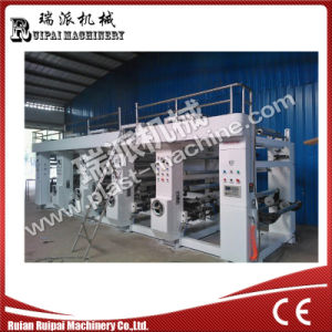 High Speed 6 Color Rotogravure Printing Press pictures & photos