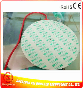 Diameter 270*1.5mm 220V 400W Silicone Rubber Heater for 3D Printer pictures & photos